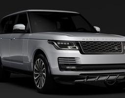 Range Rover Vogue SE L405 2018 3D