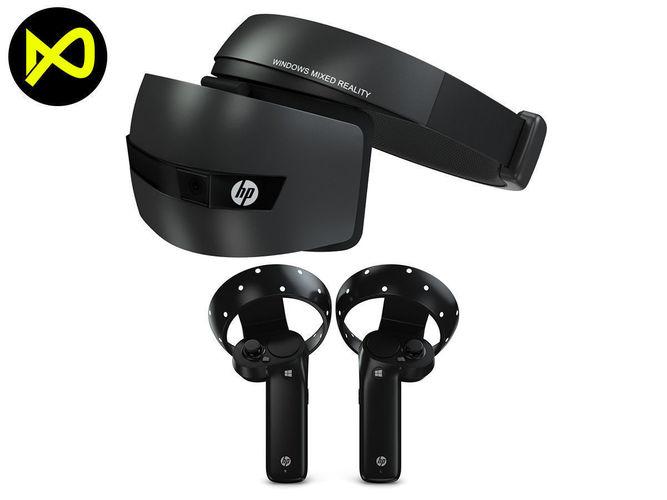 hp windows mixed virtual reality set 3d model max obj mtl 3ds fbx c4d lwo lw lws 1