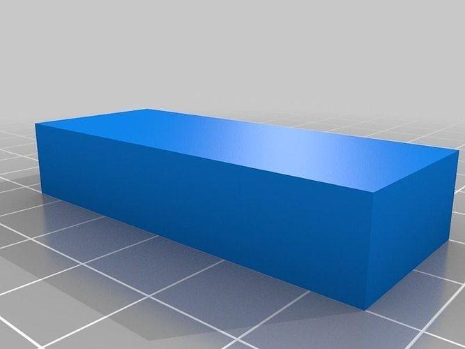 20x50x10 mm - 10 cubic centimetres volume calculation part