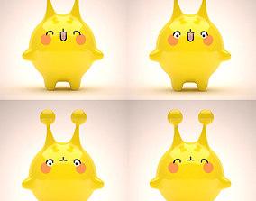 3D model Mascot Set 001