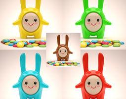 3D asset Mascot Set 002