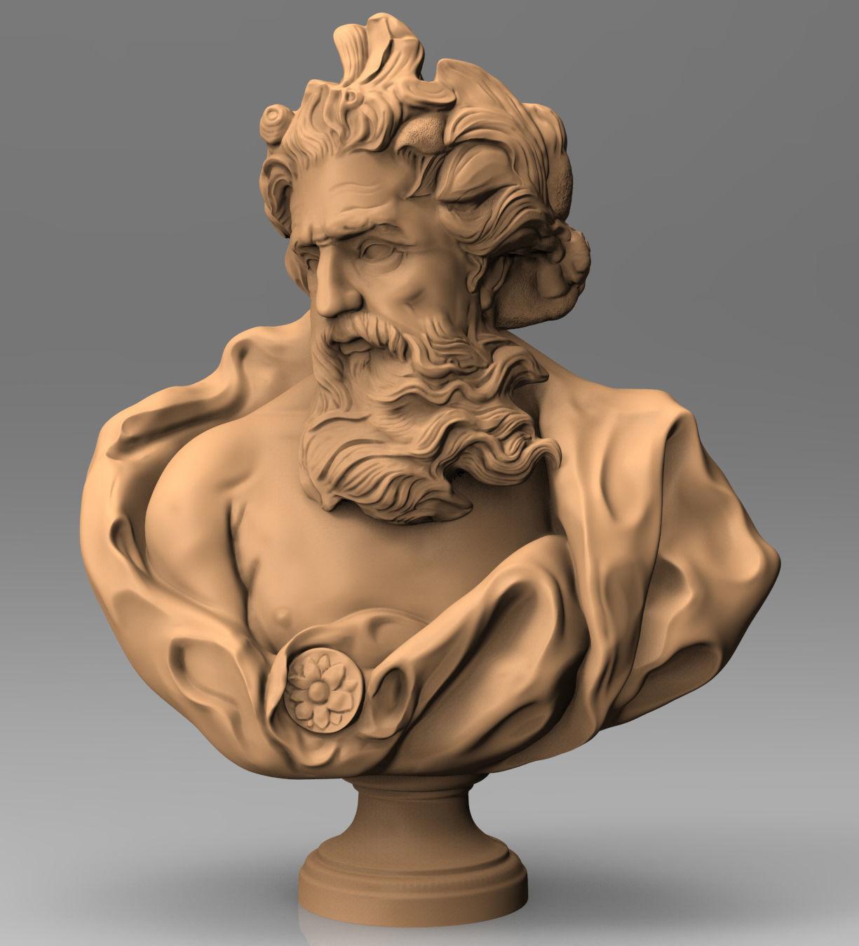 Zeus of Otricoli model