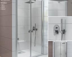 Shower doors Ravak Chrome 3D