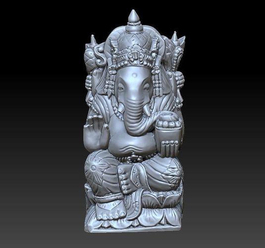 Elephant God 3d Print Model 3d Cgtrader