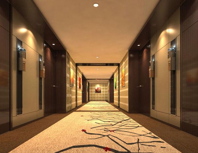 Corridor 0193D model