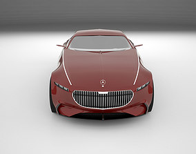 Mercedes-Benz Maybach Vision 6 3D model