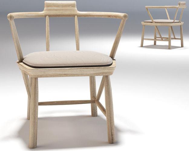 oiseau lounge chair  linteloo 3d model max obj mtl 1