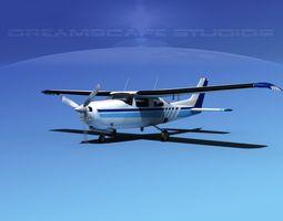 Cessna 210 Centurion V02 3D Model