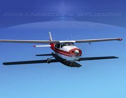 Cessna 210 Centurion V03 3D Model