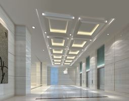 elevator space 012 3d model