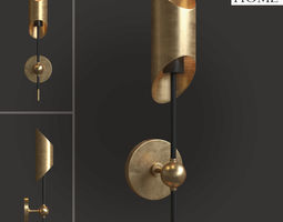 3D sconce AnyHome SB021 interior