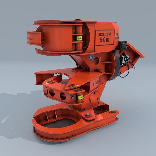 woodcracker 3d model low-poly obj mtl fbx blend 1