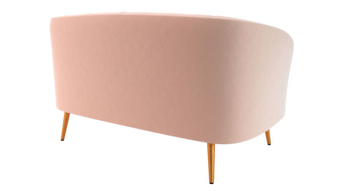 Sofa Banquette Laredoute Model Max Obj Mtl Fbx 5