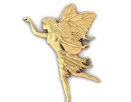 Fairy Pendant 3D print model