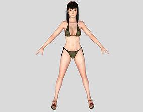 3D model Sexy Bikini Girl 03 adult