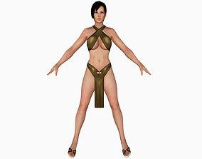 Sexy Bikini Girl 07 3D model