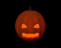 food Jack o lantern 3D model