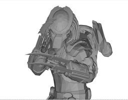 3D print model the predator