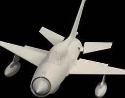 3D Mig 21 -no textures-