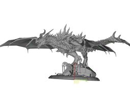 skyrim dragon 3D print model