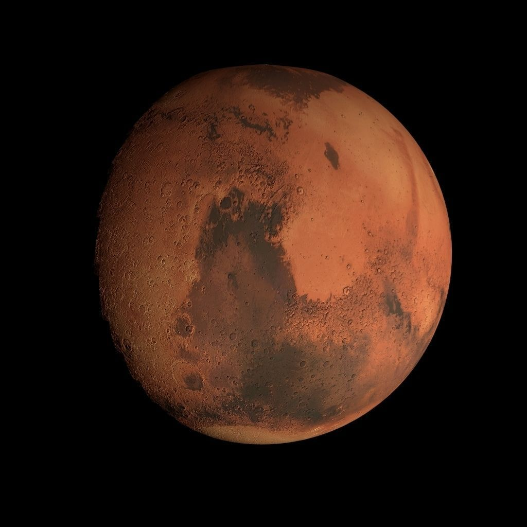 Animated 8K Mars Model 3D Model Game ready animated .obj ...
