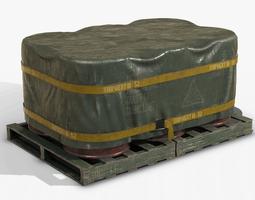 Barrel Shipment Game Prop PBR 3D model