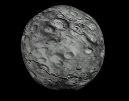 game-ready animated hd asteroid model animated