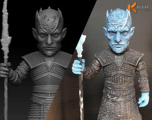 game of thrones - night king 3d model obj fbx ma mb stl 1