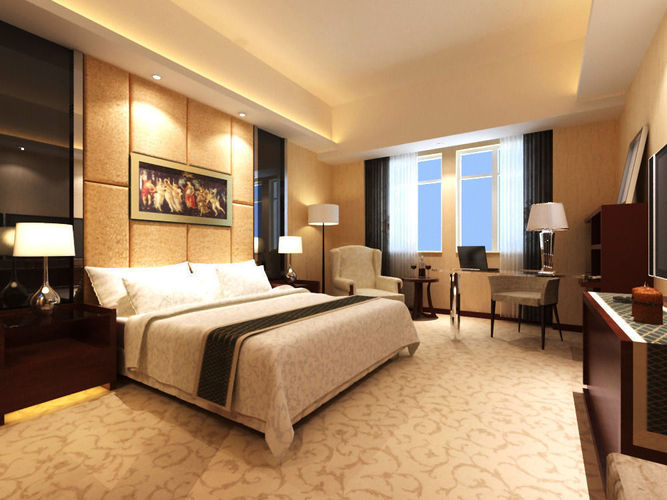 Guest room 0023D model