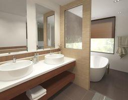 3D model Bathroom 07