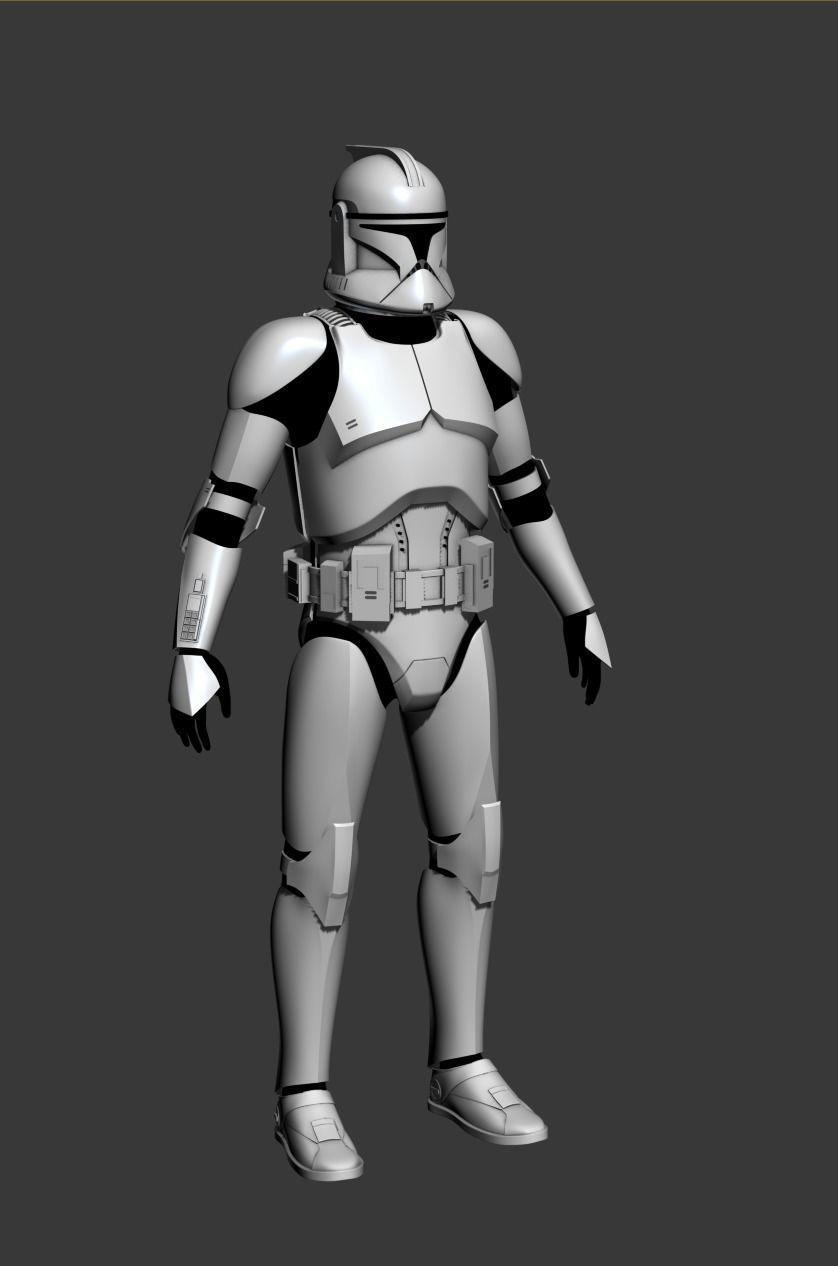 Clone Trooper Cosplay Armor