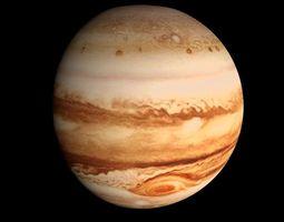 animated Animated HD Jupiter Model