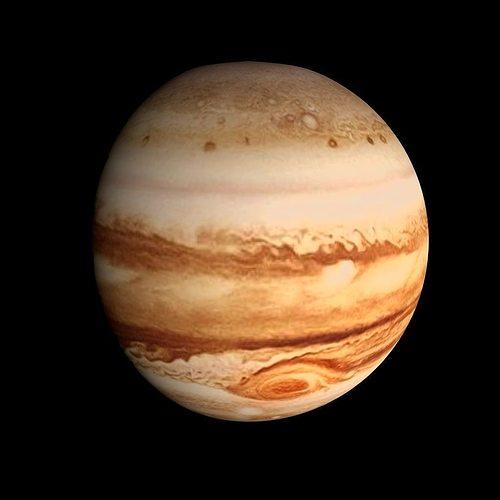 Animated Animated Hd Jupiter Model Cgtrader
