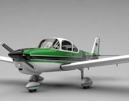 Fuji FA-200 Aero Subaru 3D asset