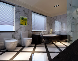 Home fashion bathroom 18 3D