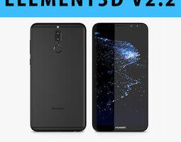 E3D - Huawei Mate 10 Lite Black 3D model