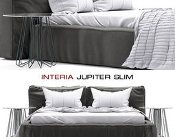 3D Interia Jupiter Slim Bed