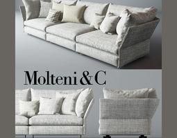 3seat 3D Holiday Sofa Molteni