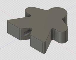 3D print model Free Meeple Tree Topper