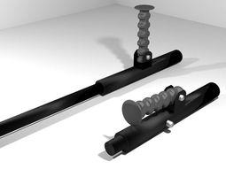 3D model Double Sticks - Compact