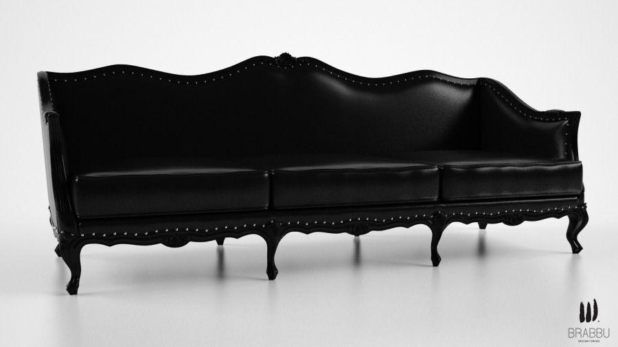 furniture ottawa 3d model brabbu ottawa sofa cgtrader