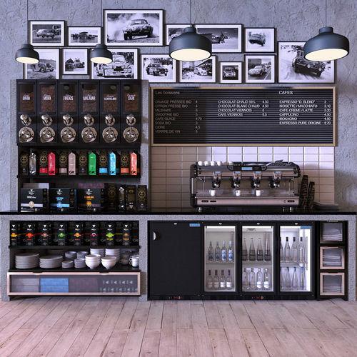 franke t600 4 and polar fridges and dasifreres 3d model max obj mtl fbx 1