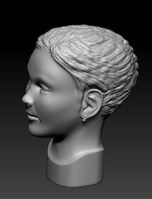 Little girl head