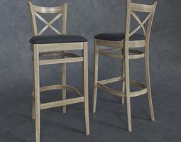 3D Chair Toscana