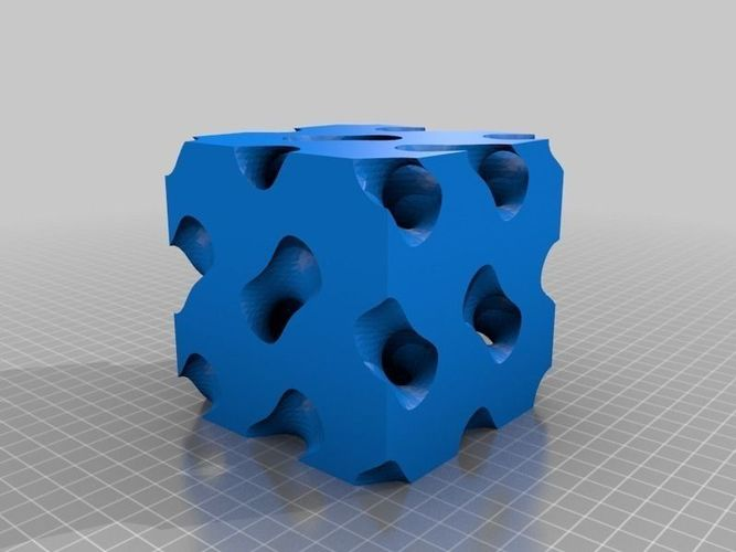 Gyroid Fixed free 3D Model 3D printable STL - CGTrader.com