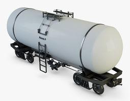 Train Cistern 3D