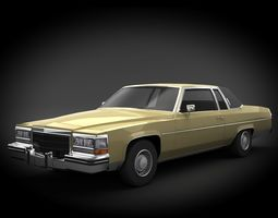 Cadillac Coupe DeVille 3D