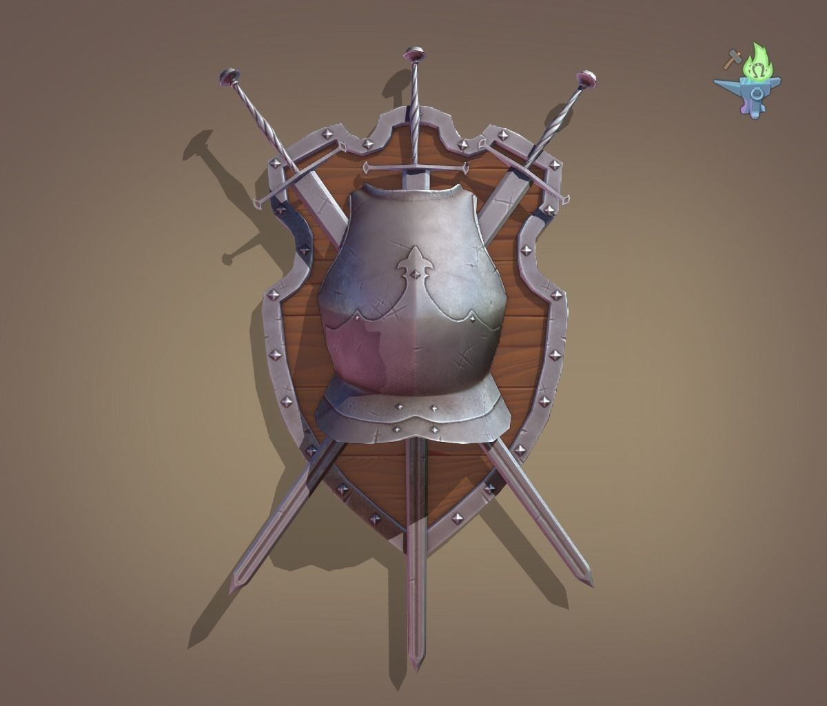 [Image: ornamental-shield-3d-model-low-poly-obj-...-blend.png]