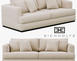 Eichholtz Sofa Hallandale 3D model