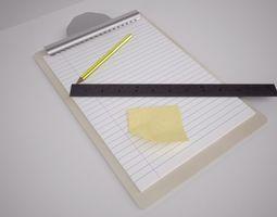 clipboard bundle 3d